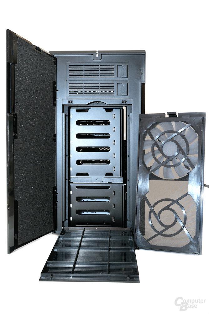 Fractal Design Define R4 - Entfernter Staubfilter samt Lüfter
