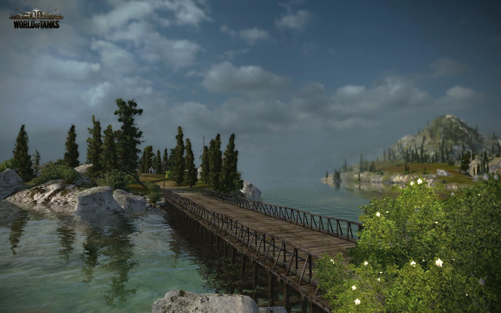 """Karte """"Serene Coast"""""""