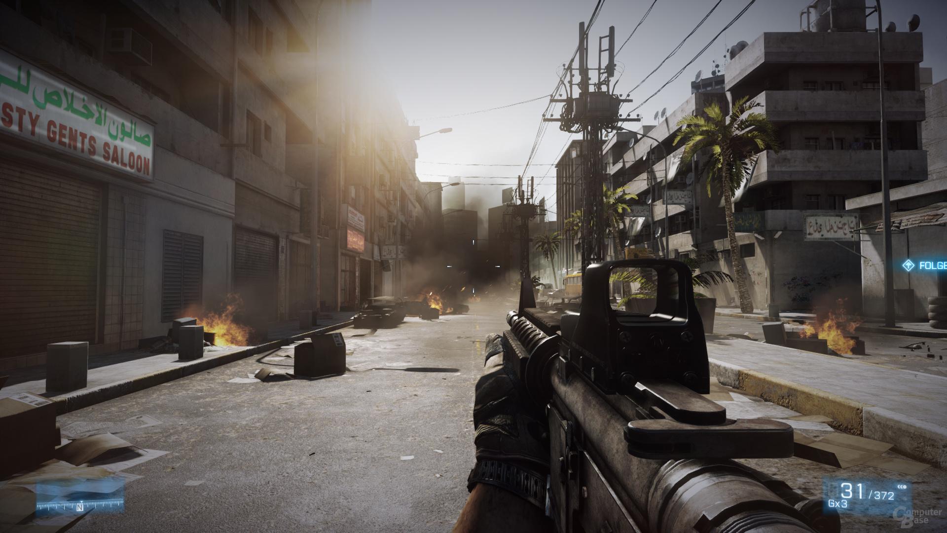 Nvidia Kepler - Battlefield 3