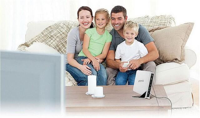 Da lacht die Familie: Ausgeschaltete WindBox