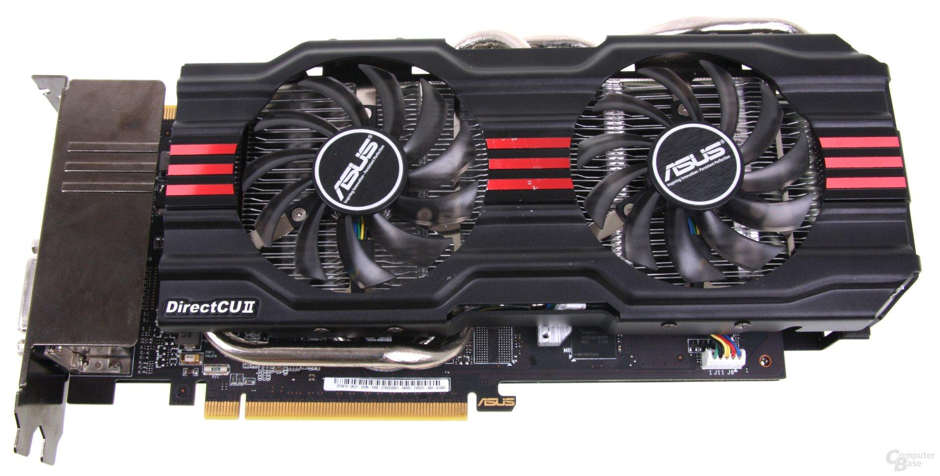 Asus GeForce GTX 670 DCII OC