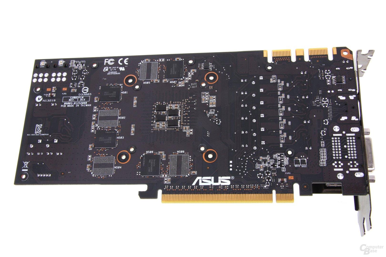 GeForce GTX 670 DCII OC Rückseite