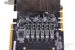 GeForce GTX 670 DCII OC Stromversorgung