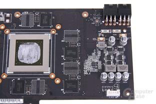 GeForce GTX 670 DCII OC Bauteile