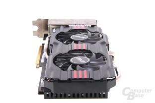 GeForce GTX 670 DCII OC von hinten