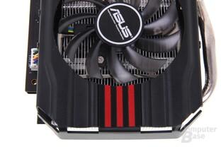 GeForce GTX 670 DCII OC von oben