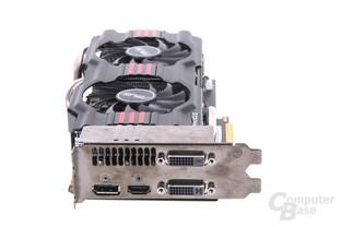 GeForce GTX 670 DCII OC Slotblech