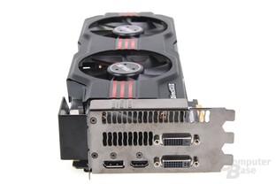 GeForce GTX 680 DCII OC Slotblech