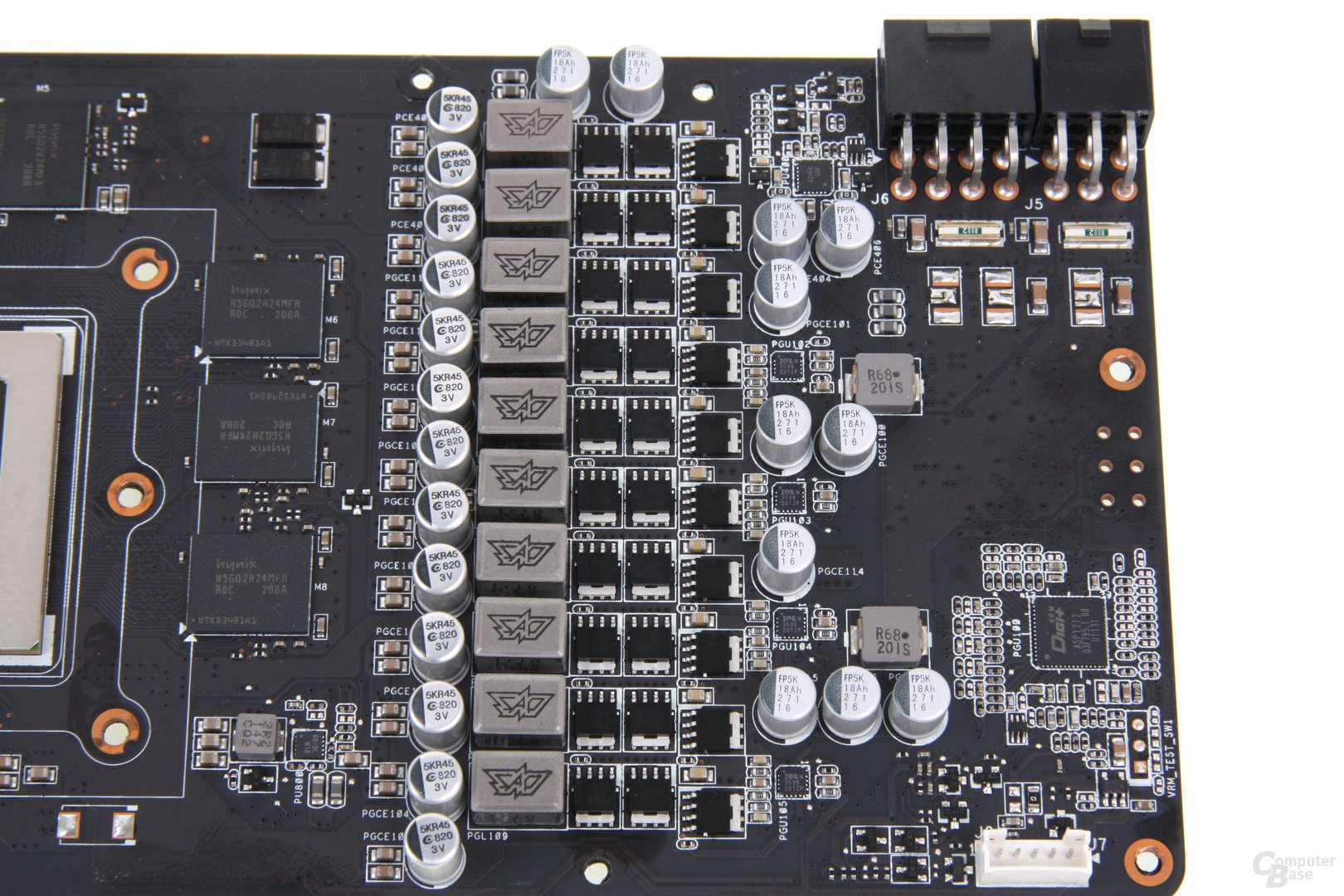 GeForce GTX 680 DCII OC Stromversorgung
