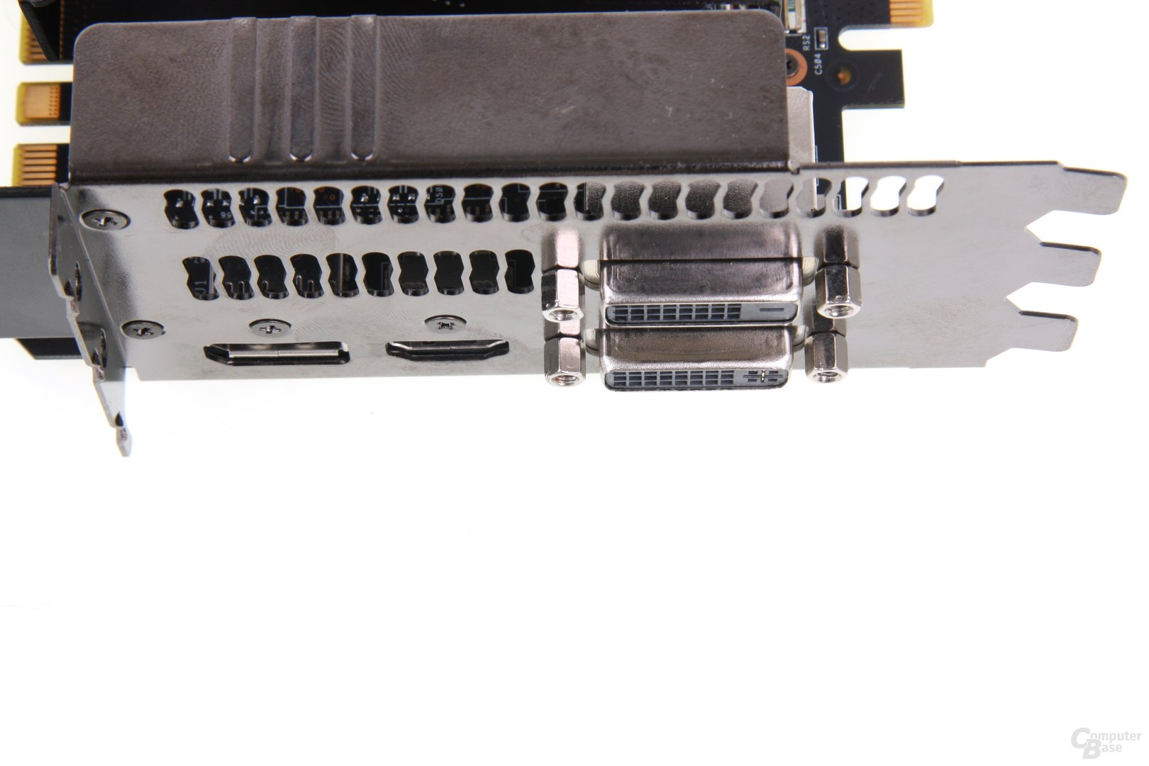 GeForce GTX 680 DCII OC Anschlüsse