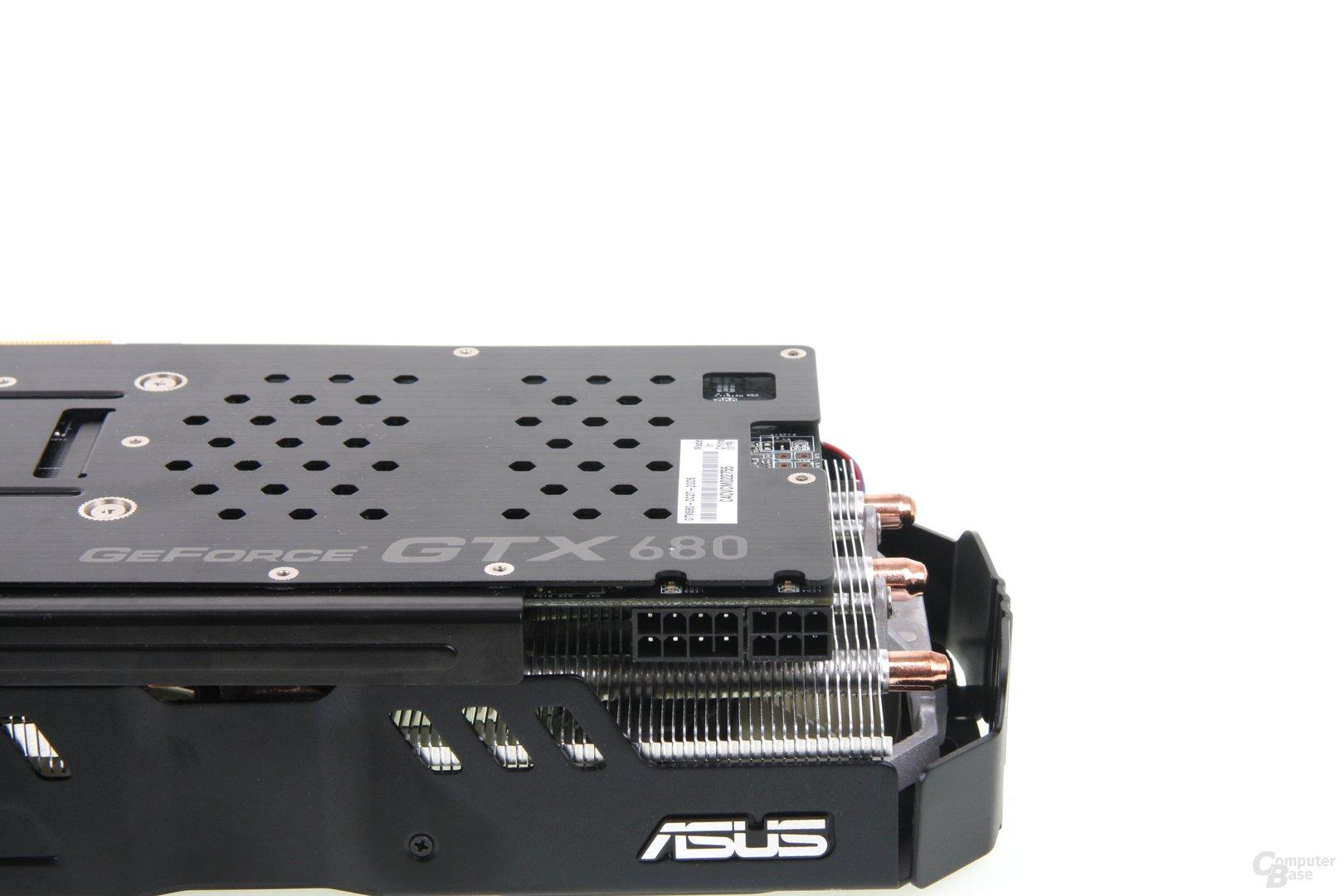 GeForce GTX 680 DCII OC Stromstecker