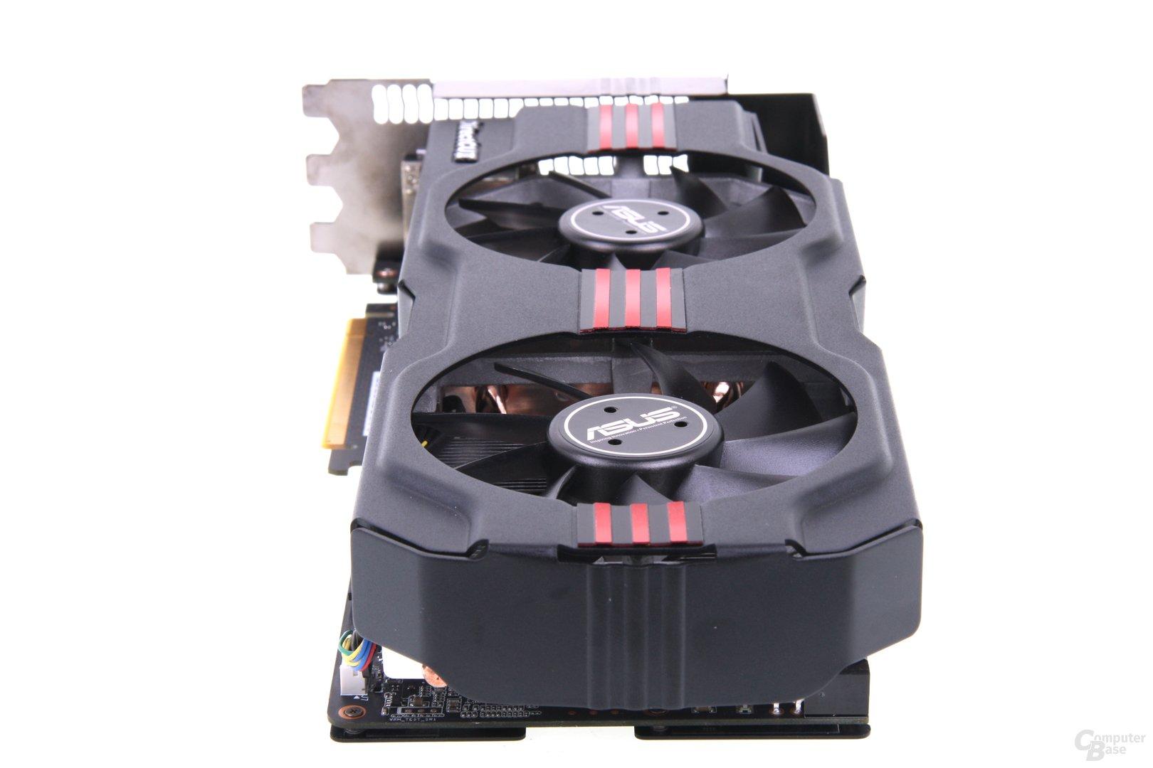 GeForce GTX 680 DCII OC von hinten