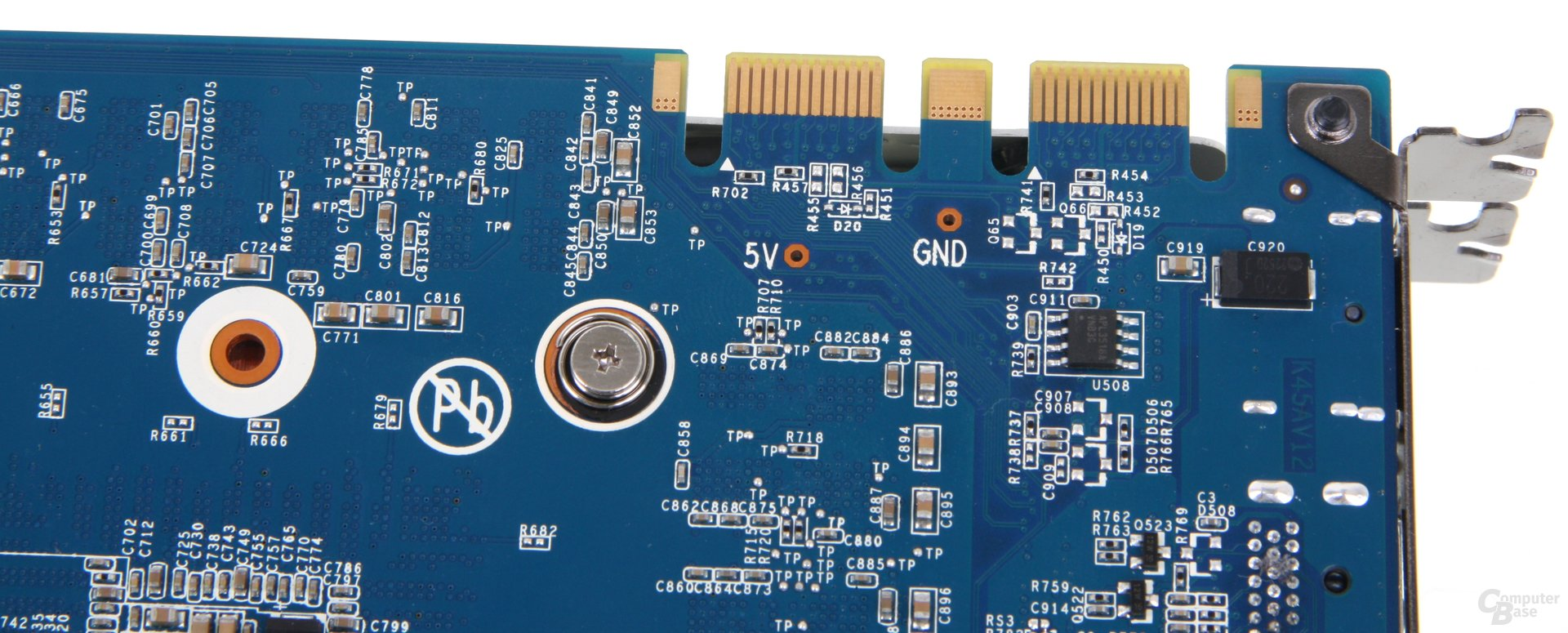 GeForce GTX 680 OC EX SLI-Anschlüsse