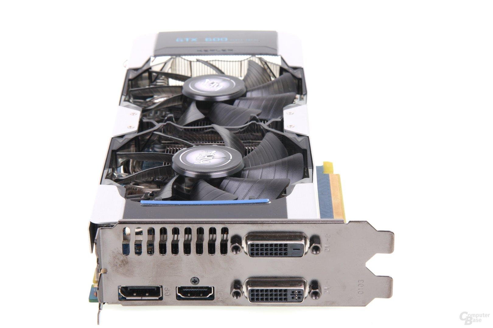 GeForce GTX 680 OC EX Slotblech