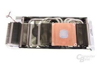 GeForce GTX 680 OC EX Kühlerrückseite