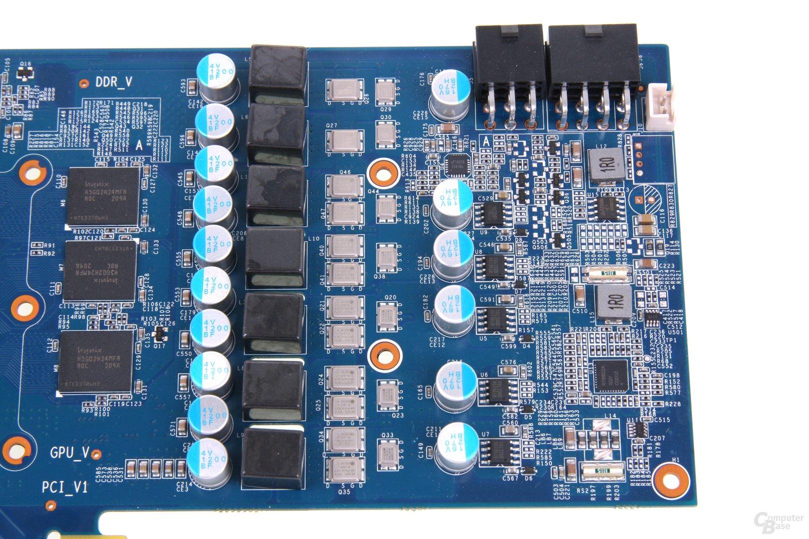 GeForce GTX 680 OC EX Stromversorgung