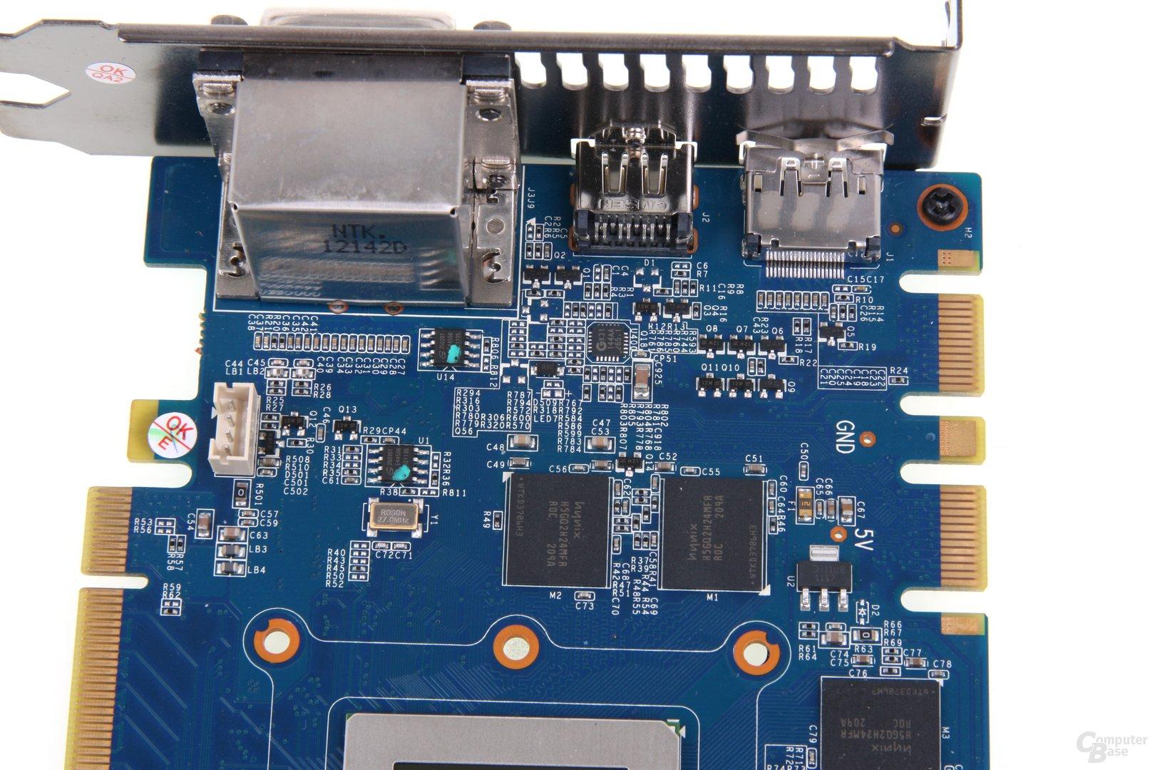 GeForce GTX 680 OC EX Bauteile