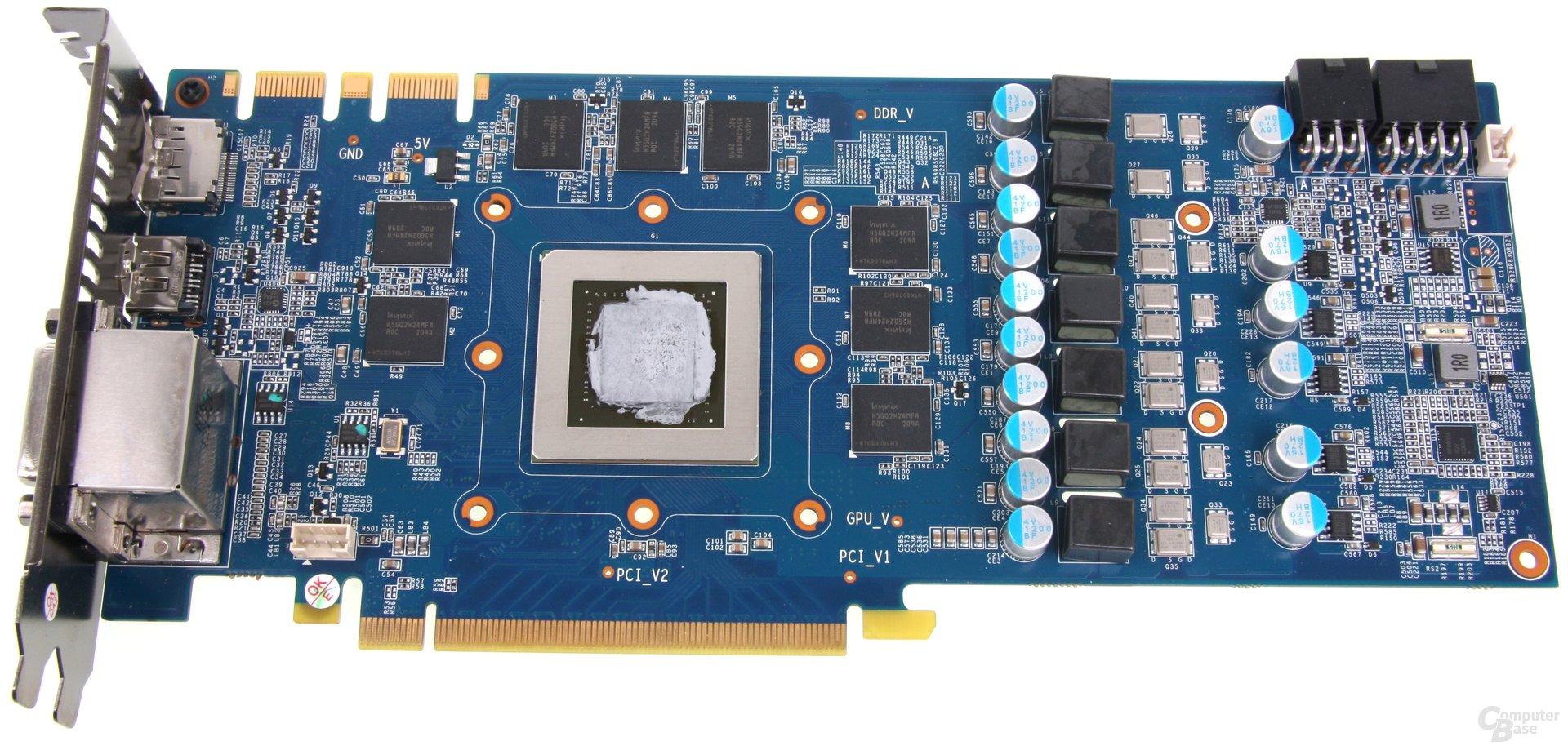 GeForce GTX 680 OC EX ohne Kühler