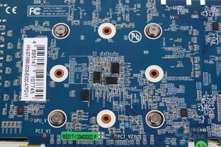 GeForce GTX 680 OC EX GPU-Rückseite