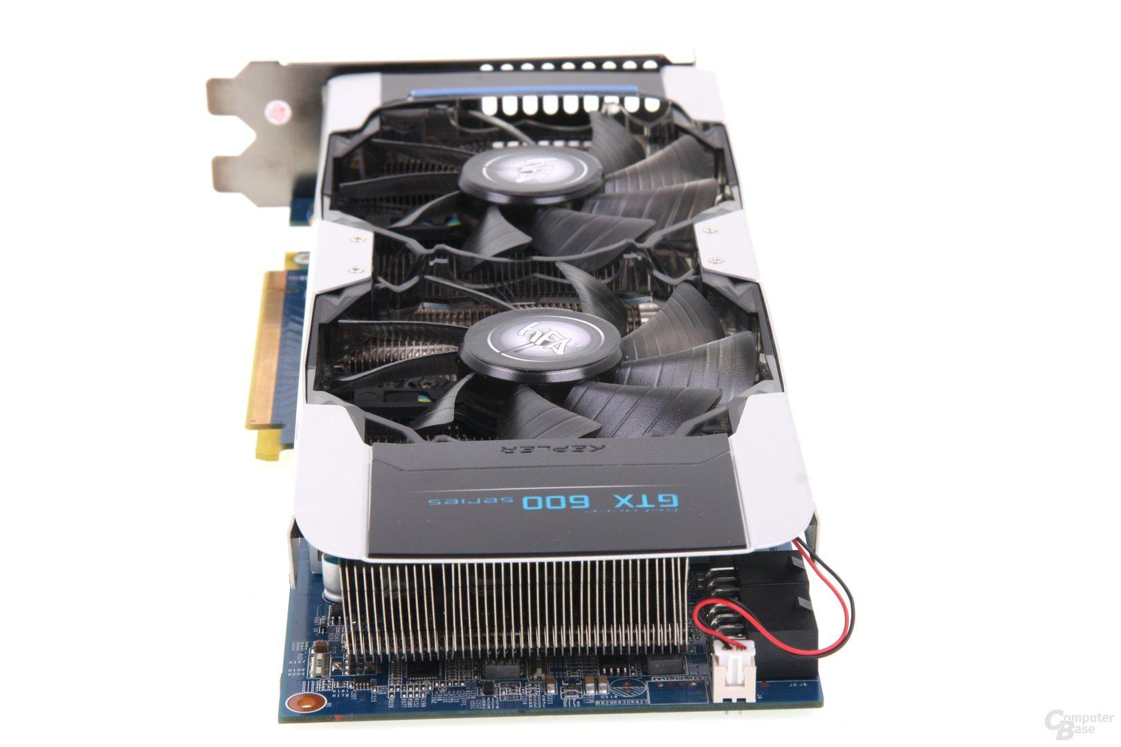 GeForce GTX 680 OC EX von hinten