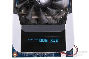 GeForce GTX 680 OC EX von oben