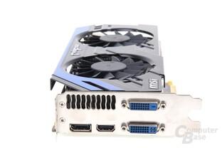 GeForce GTX 670 PE OC Slotblech