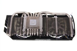 GeForce GTX 670 PE OC Kühlerrückseite