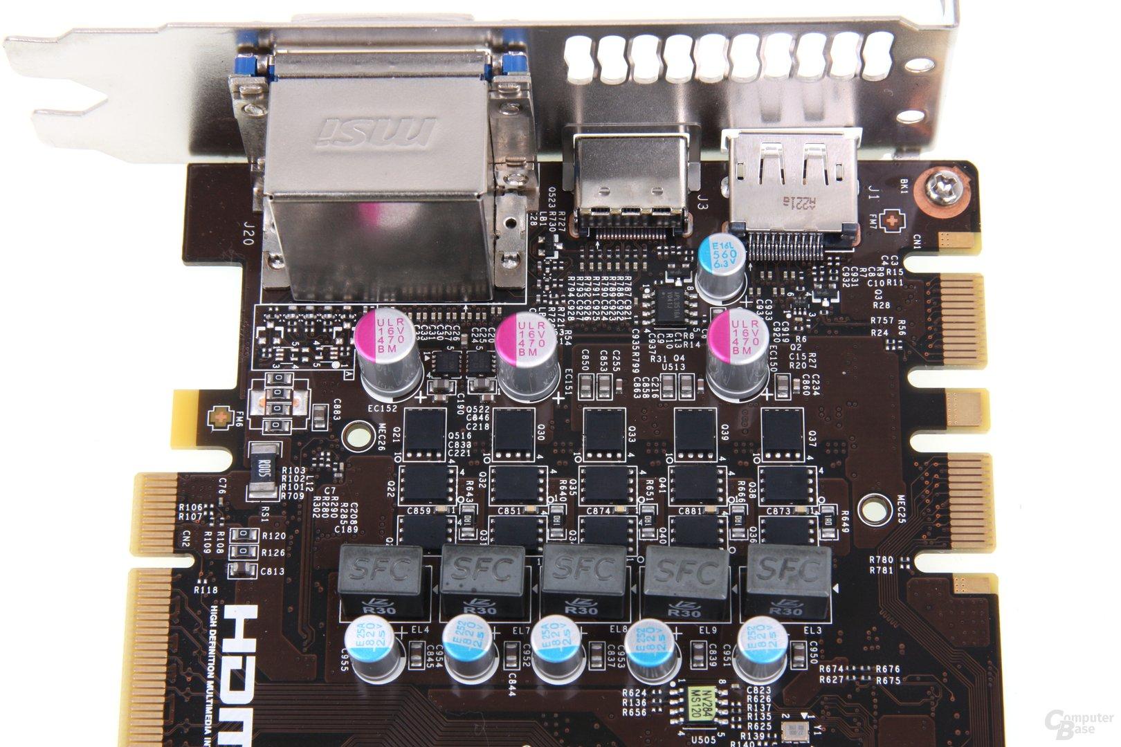 GeForce GTX 670 PE OC Stromversorgung