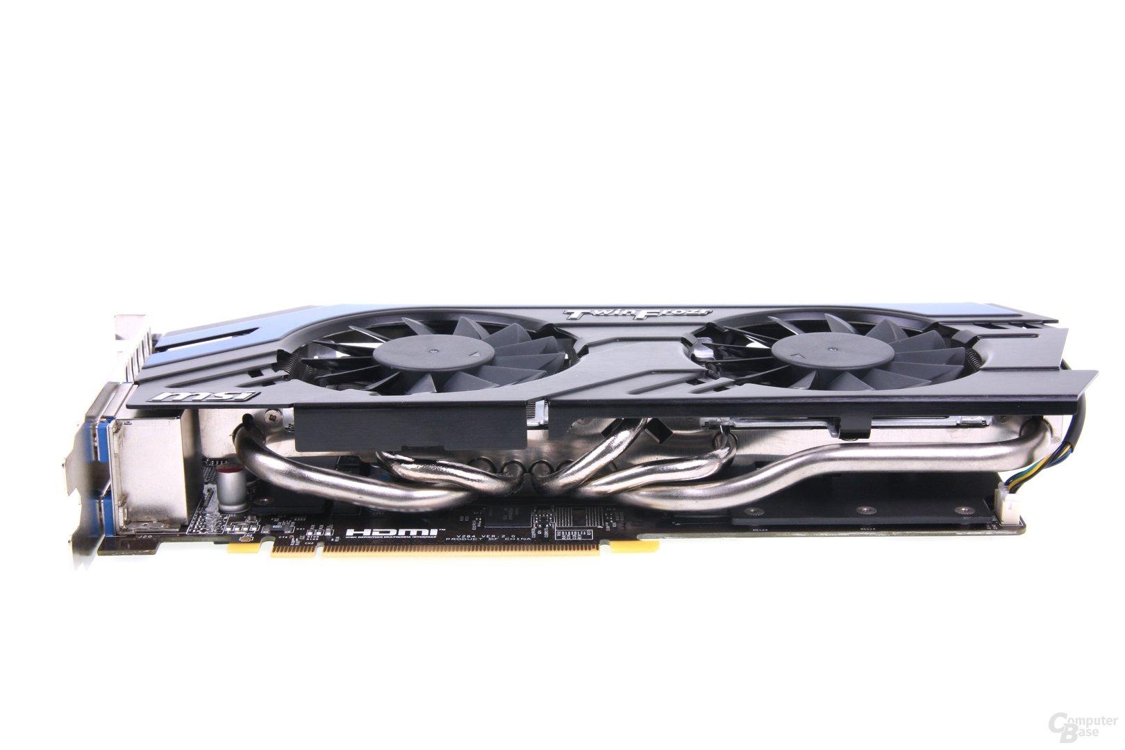 GeForce GTX 670 PE OC Heatpipes