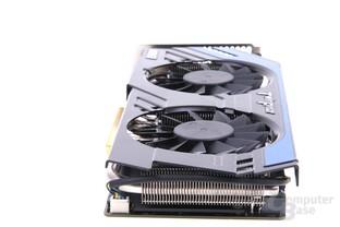 GeForce GTX 670 PE OC von hinten
