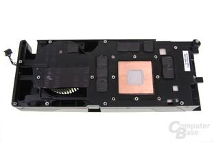 GeForce GTX 670 FTW Kühlerrückseite