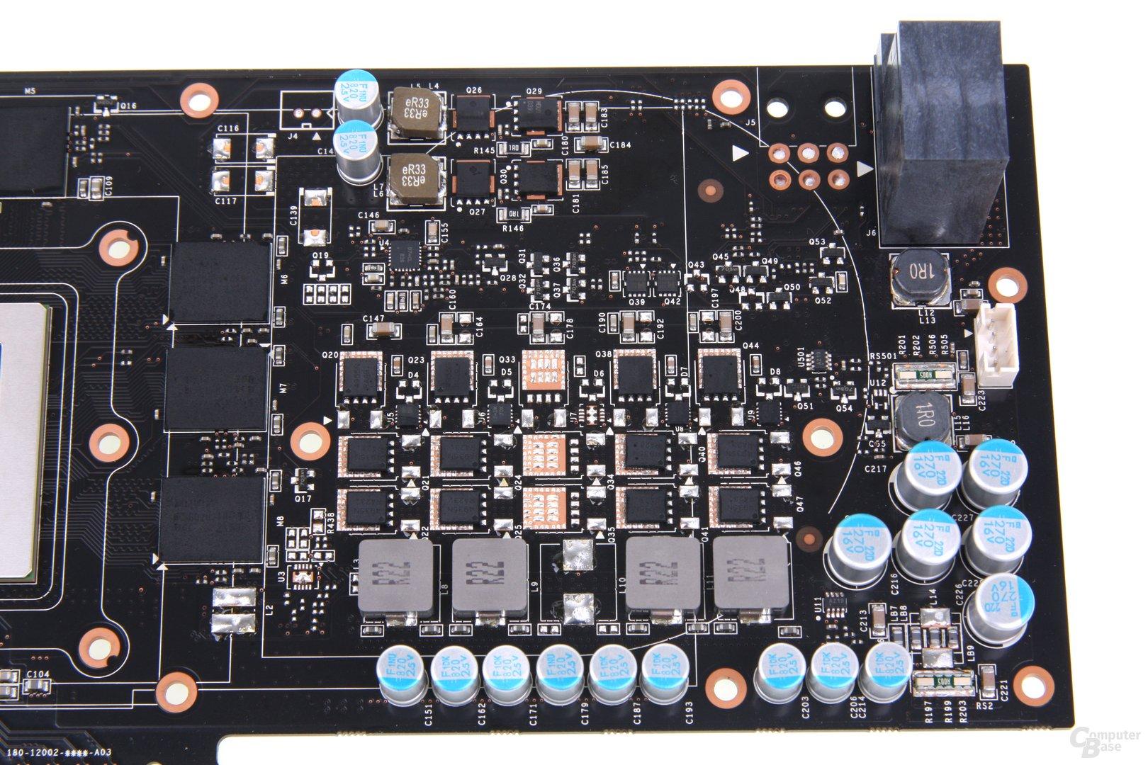 GeForce GTX 670 FTW Stromversorgung