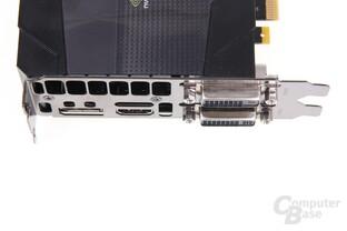 GeForce GTX 670 FTW Anschlüsse