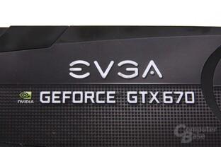 GeForce GTX 670 FTW Schriftzug