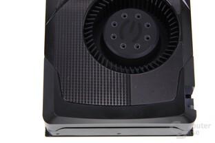 GeForce GTX 670 FTW von oben