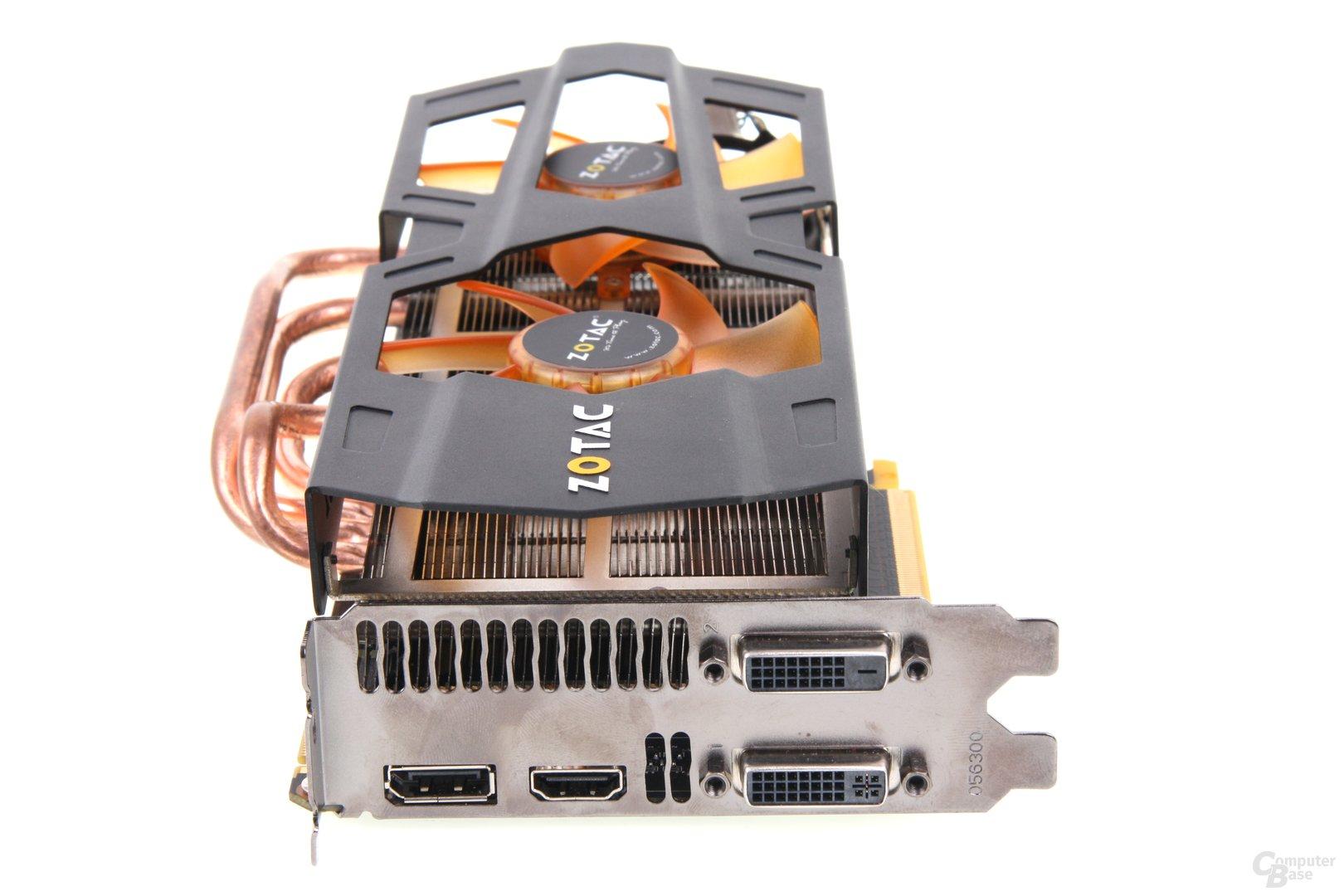 GeForce GTX 670 AMP! Slotblech