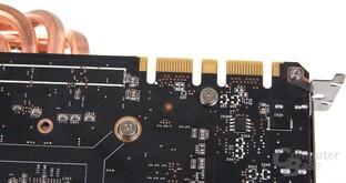 GeForce GTX 670 AMP! SLI-Anschlüsse