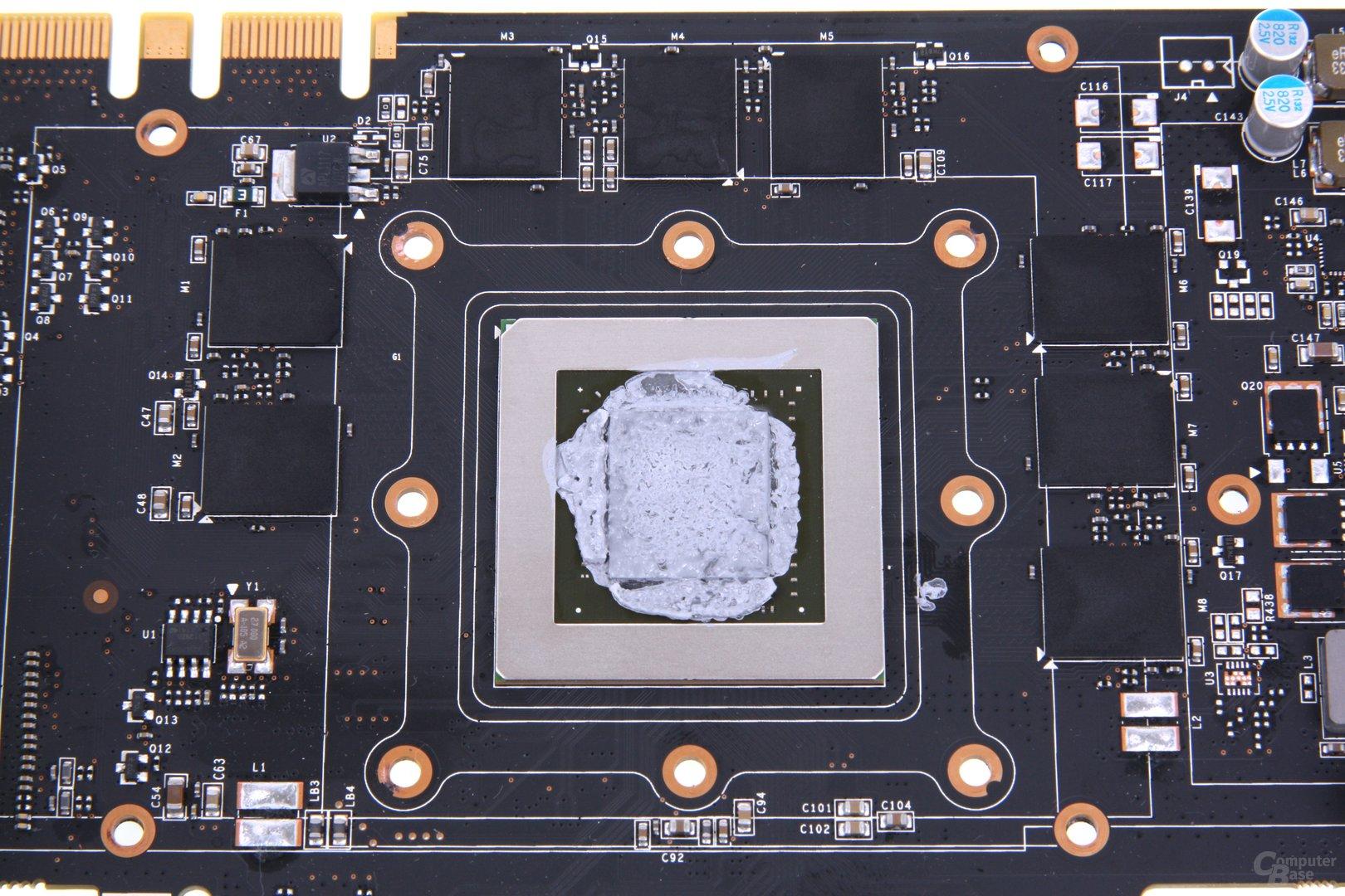 GeForce GTX 670 AMP! GPU und Speicher