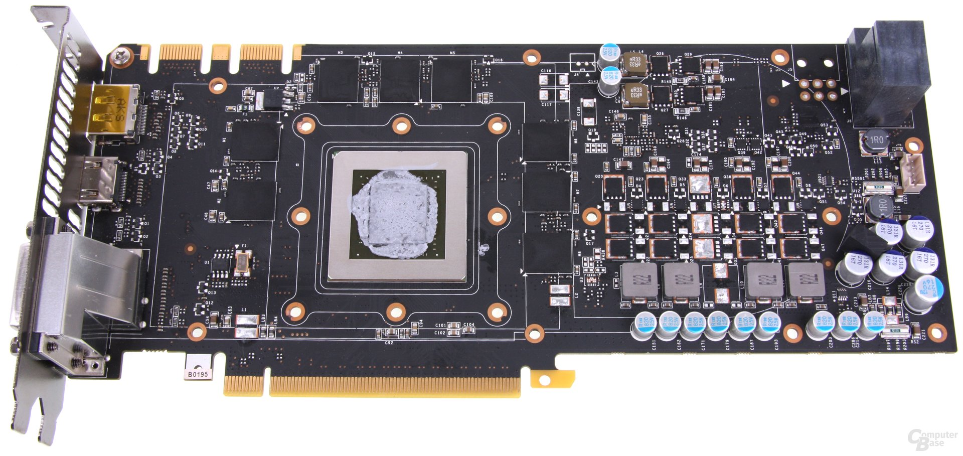 GeForce GTX 670 AMP! ohne Kühler