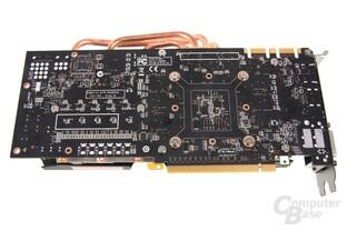 GeForce GTX 670 AMP! Rückseite