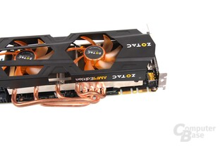 GeForce GTX 670 AMP! Heatpipes