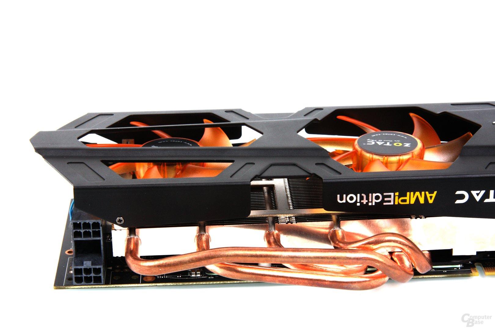 GeForce GTX 670 AMP! Stromanschlüsse