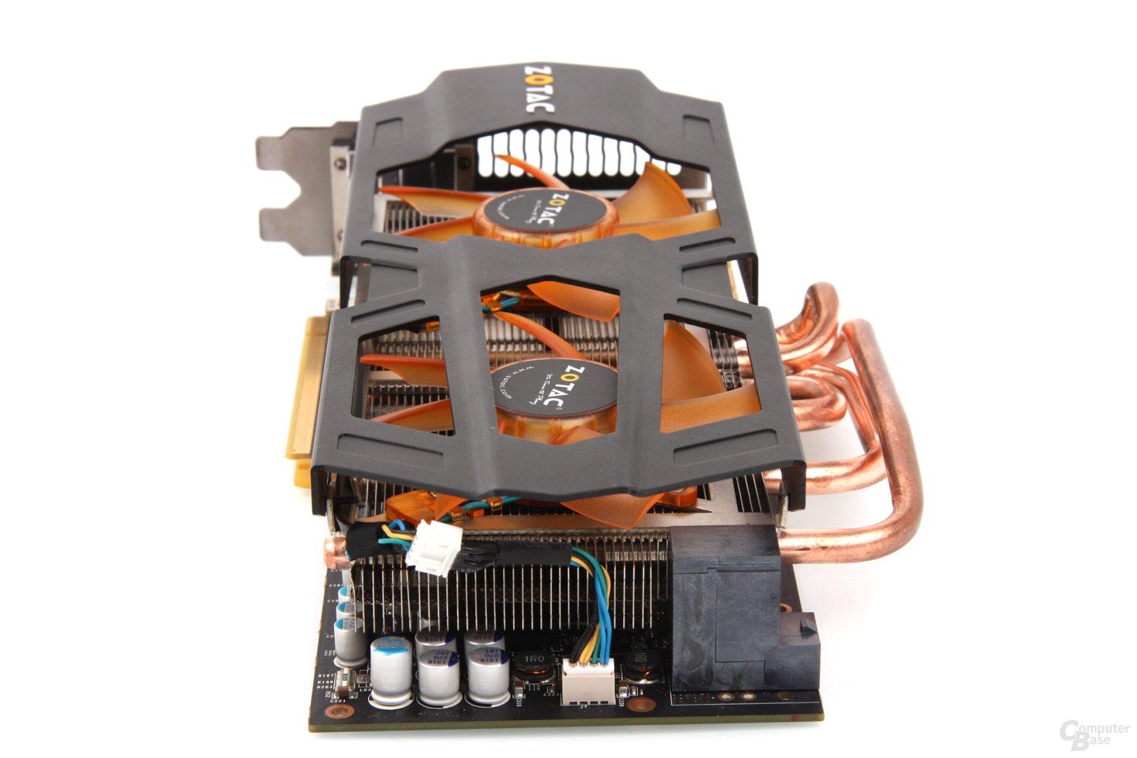 GeForce GTX 670 AMP! von hinten