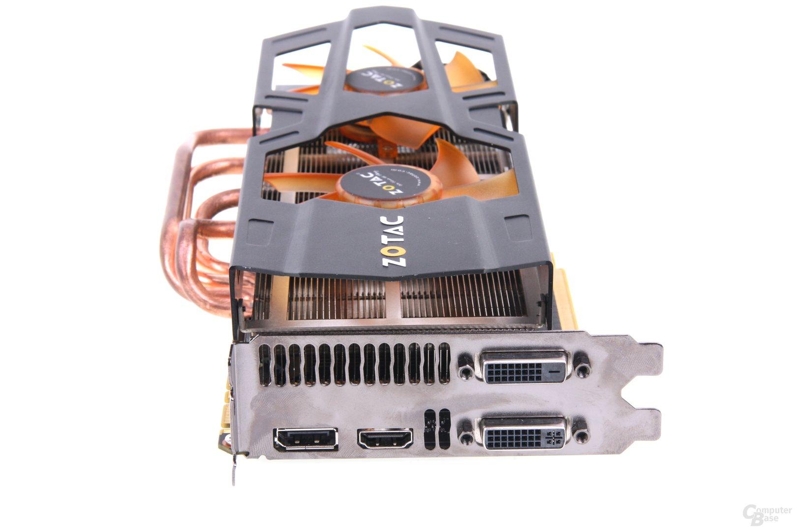 GeForce GTX 680 AMP! Slotblech