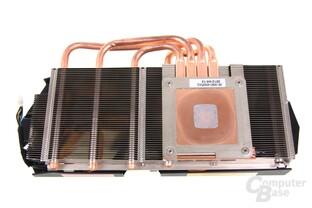 GeForce GTX 680 AMP! Kühlerrückseite