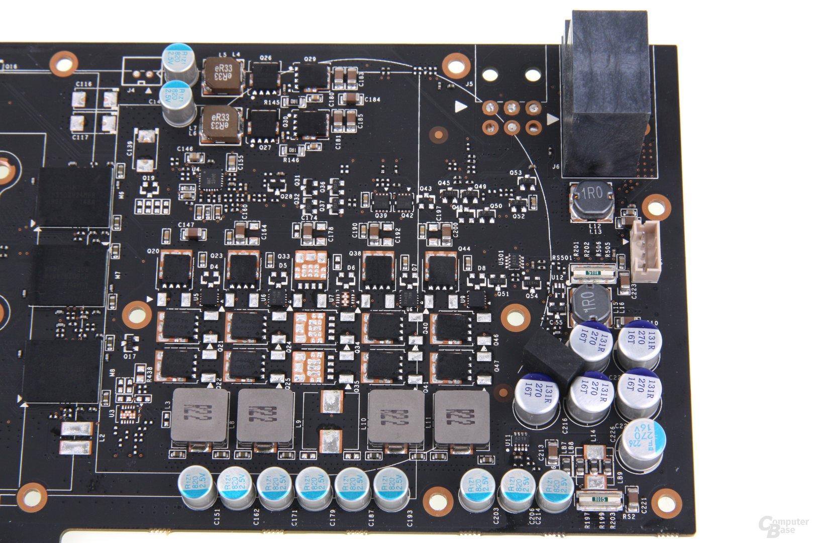 GeForce GTX 680 AMP! Stromversorgung