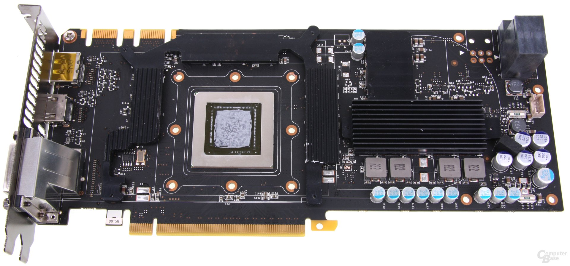 GeForce GTX 680 AMP! Kühlplatte