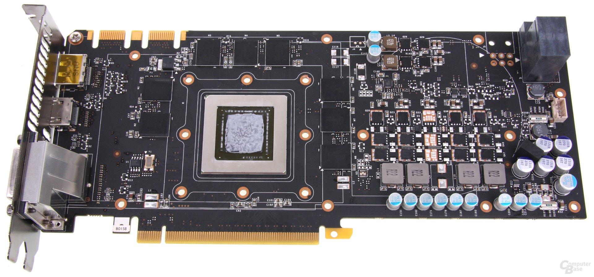 GeForce GTX 680 AMP! ohne Kühler