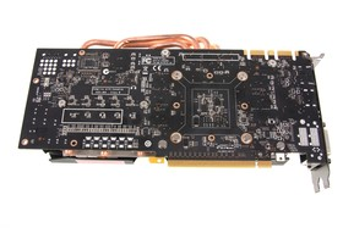 GeForce GTX 680 AMP! Rückseite