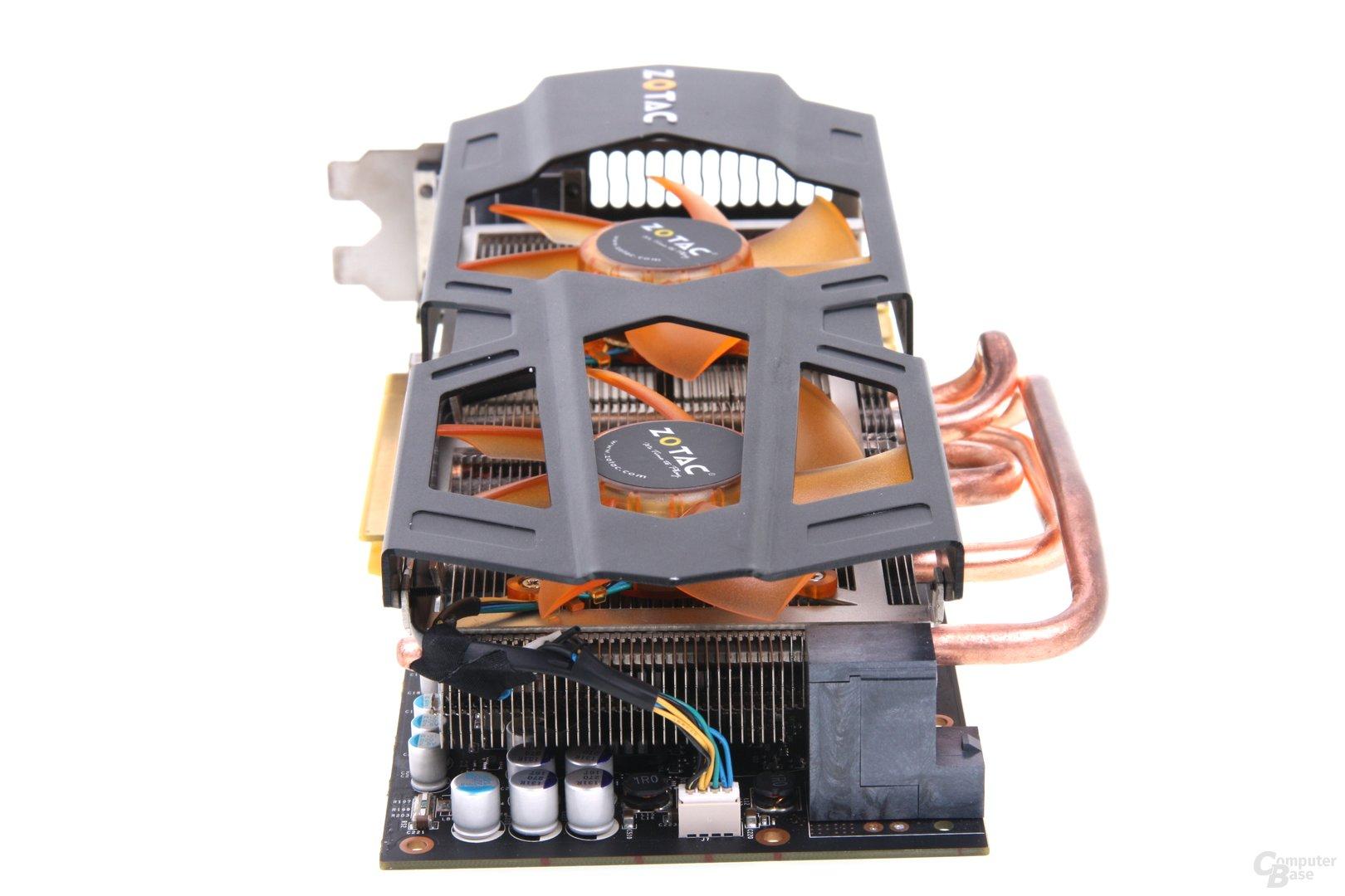 GeForce GTX 680 AMP! von hinten